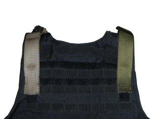 MOLLE attachment, rear view